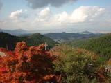 奈良盆地の眺め