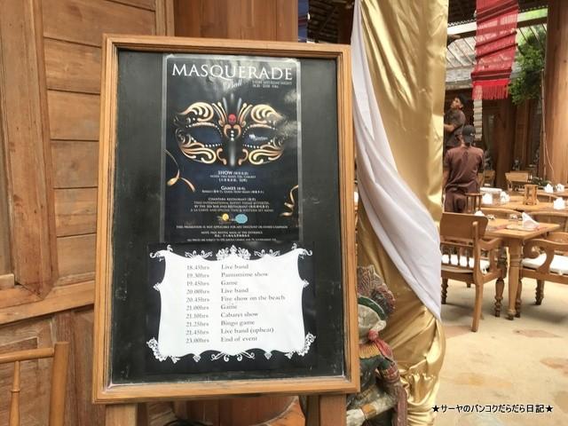 0 MASQUERADE santhiya resort 仮装 マスク (3)