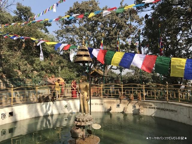 カスワヤンブナート仏塔 カトマンズ 世界遺産 (1)
