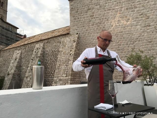 360 Dubrovnik Michelin restaurant ソムリエ