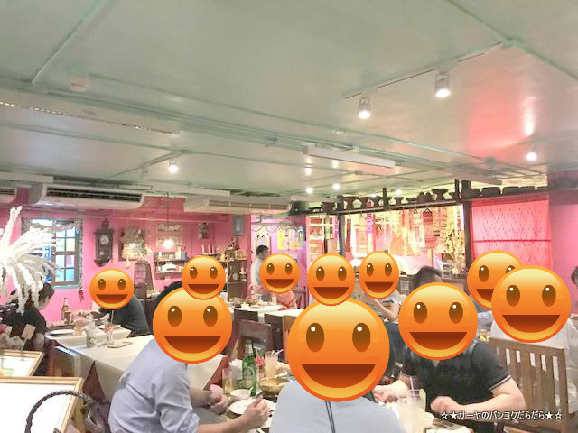 GEDHAWA ゲッタワー 定番 タイ料理 レストラン バンコク 店内