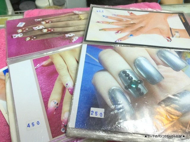 heart nails bangkok エカマイ バンコク ネイル ペディキュア