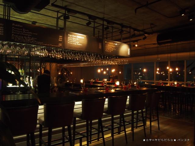 ルーフトップバー Scarlett Wine Bar & Restaurant バンコク