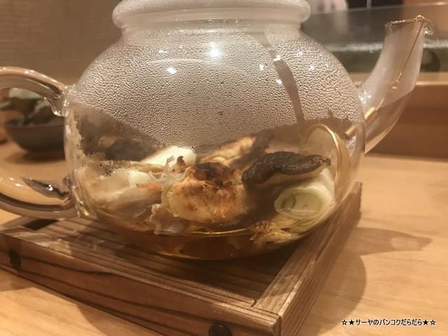 さぶ 貝 蟹 バンコク 会席 和食 レストラン 接待 (4)