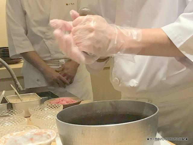 sushi ichizu 鮨いちづ 豪華 バンコク 美味 手作り