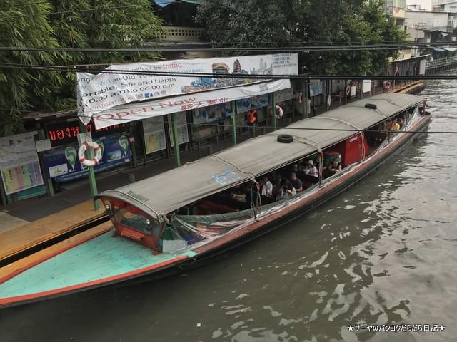 センセープ 水上バス 船 saen saep boat express (2)