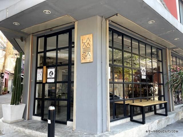 La Mesa Coffee Co バンコク カフェ ウドムスック (1)