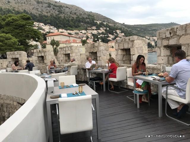 360 Dubrovnik Michelin restaurant 店内