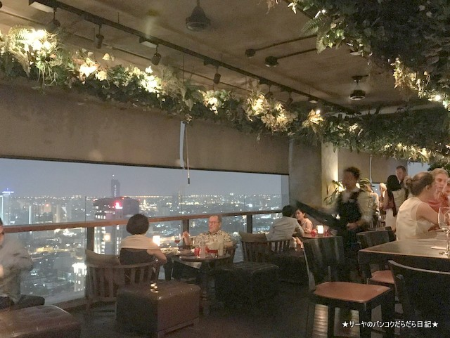 Scarlett Wine Bar bangkok テラス おすすめ シーロム 2018
