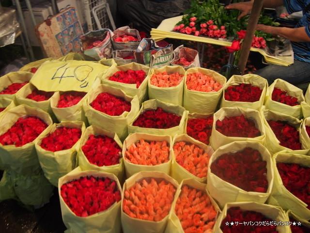パークロン市場 バンコク 花市場 Pak Klong Market