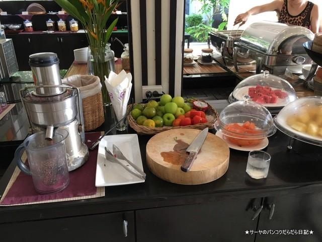 クラビ タイ Krabi 秘境 ホテル 朝食 (9)