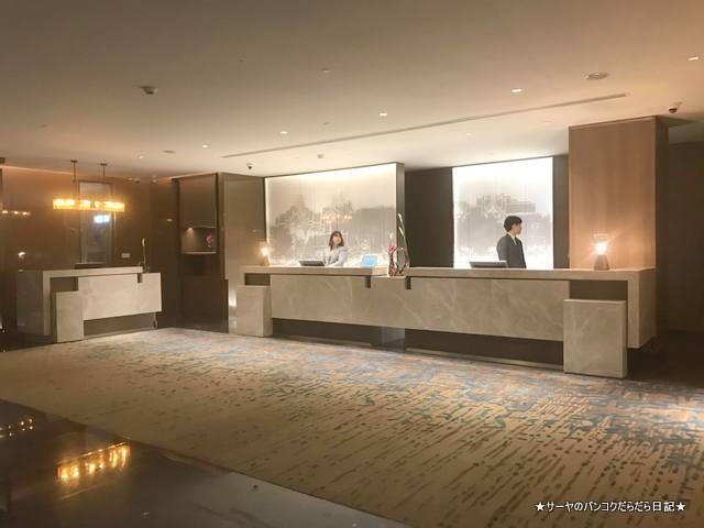 Conrad Bangkok コンラッド バンコク ホテル 受付