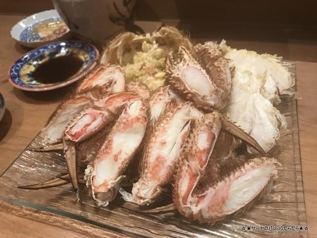 さぶ 貝 蟹 バンコク 会席 和食 レストラン 接待 (20)