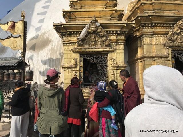 カスワヤンブナート仏塔 カトマンズ 世界遺産 (17)