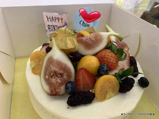 Yellow Spoon バンコク 誕生日ケーキ タイ
