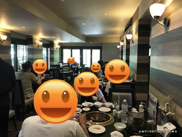 ginzado bangkok 銀座堂 焼肉 高級 接待 1階席