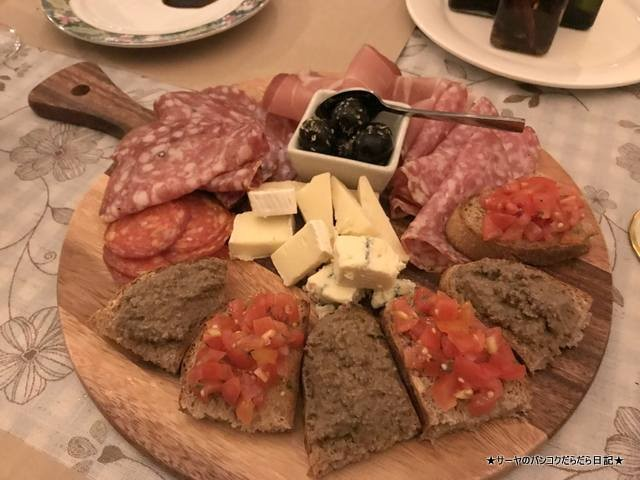 BonAmici Italian Kitchen バンコク Coldplatter