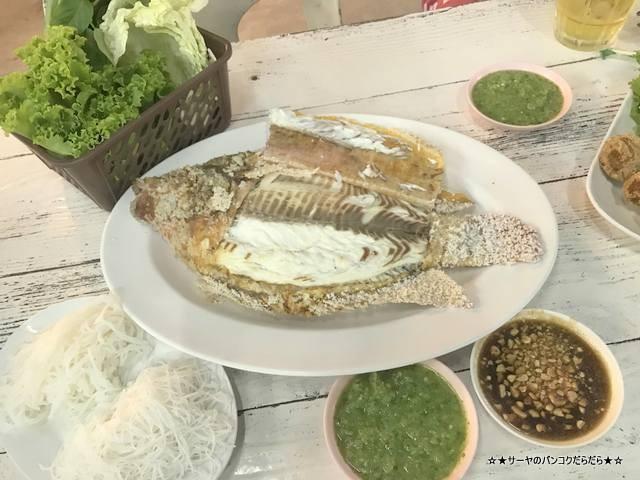 プラーパオソットパッタナカーン タイ料理 バンコク (7)