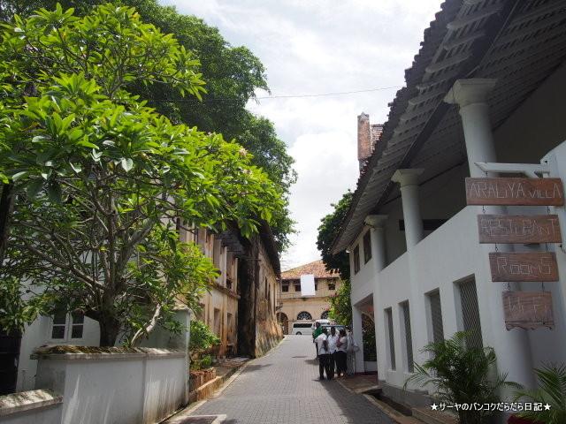 ゴールフォートの街並み ゴールの旧市街と要塞
