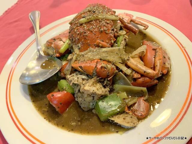 プーケット patong seafood 蟹