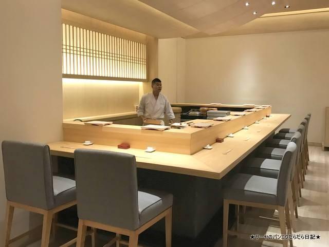 sushi ichizu 鮨いちづ 豪華 バンコク 美味 (3)