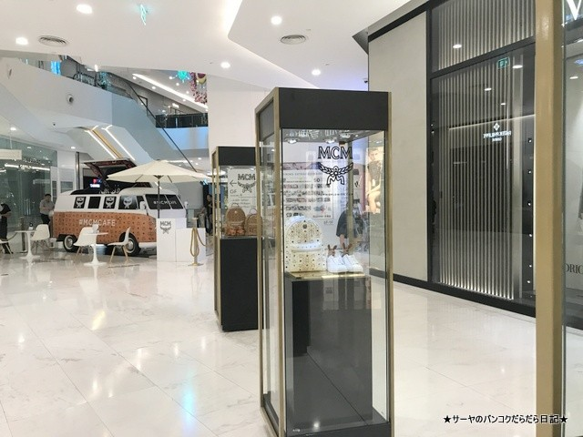 MCM CAFE バンコク ファッション ブランド (1)