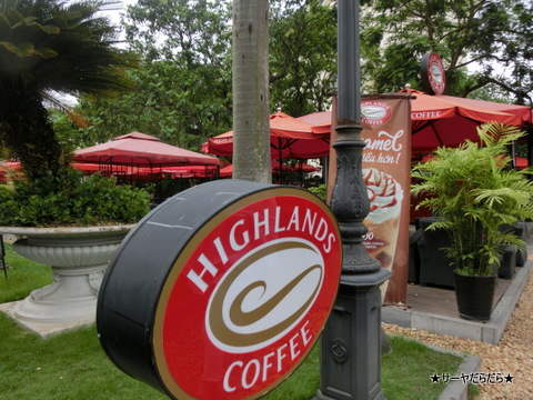 HIGHLANDS COFFEE ベトナム 1