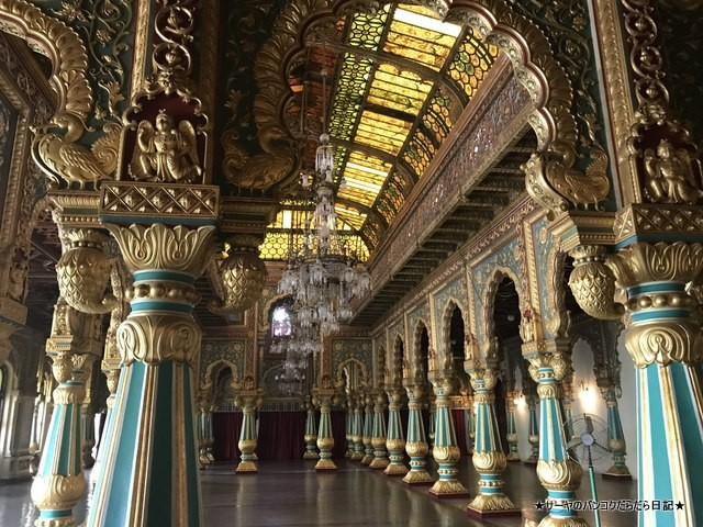 Mysore Palace マイソールパレス マイスール 南インド (31)