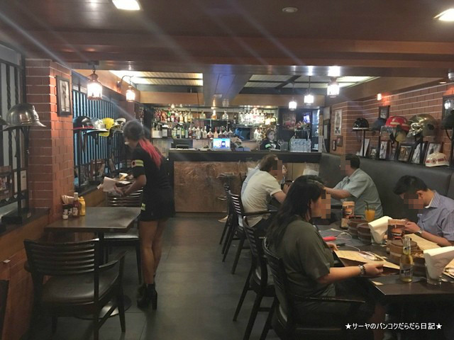 Firehouse Sukhumvit Bangkok ハンバーガー (9)-001