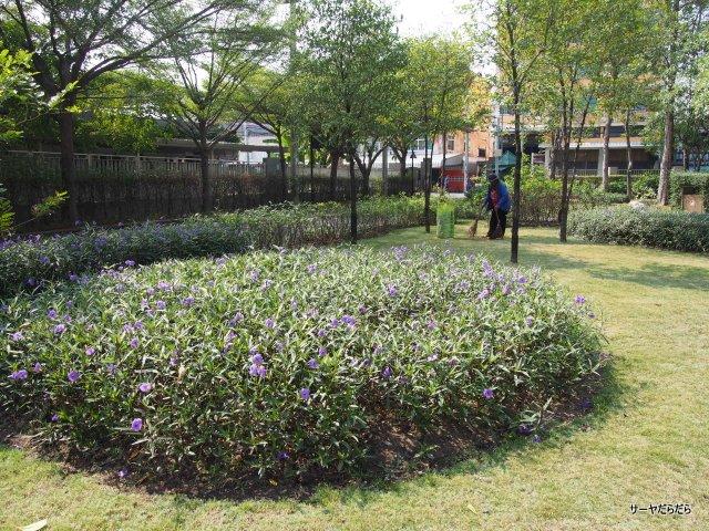 ラマ8世公園 RAMA 8 park  バンコク