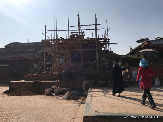 Bhaktapur バクタプル カトマンズ 世界遺産 王宮前広場 (12)