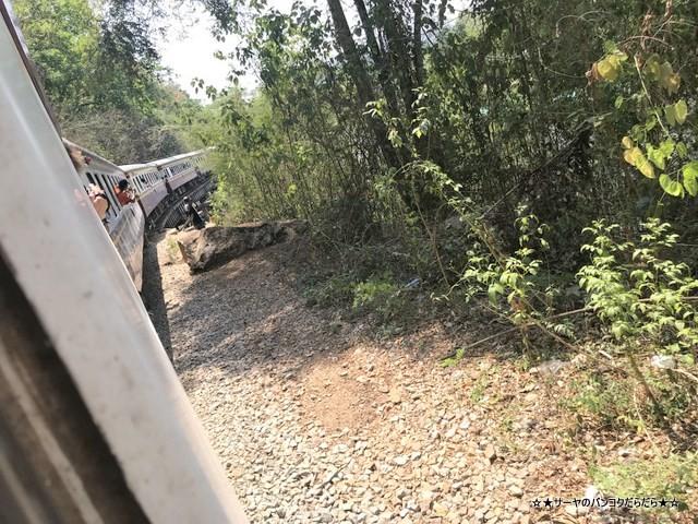 THAMKRA SAE カンチャナブリ 電車 ツアー 戦場にかける橋 (13)