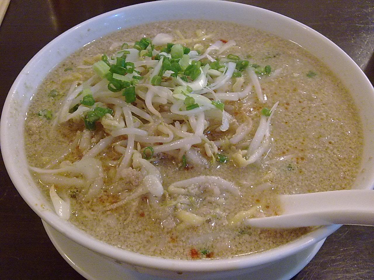 20100123 坦々麺 2
