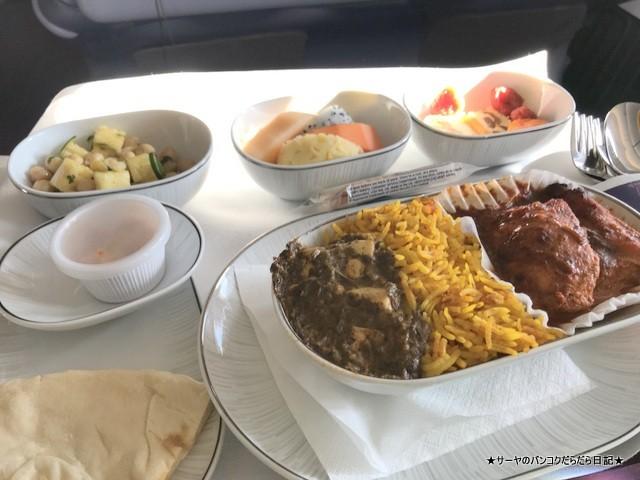 タイ航空 ビジネス インド料理 ネパール (3)