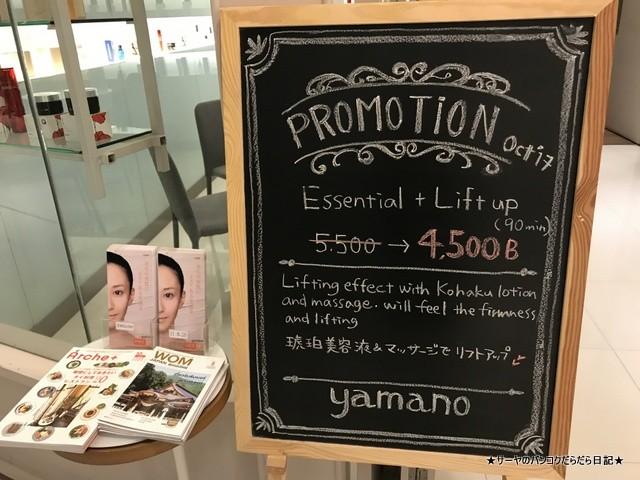 0 yamano aiko face spa バンコク フェイシャル (4)