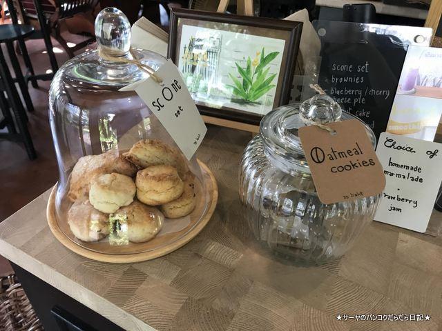 Baan Ongkharak Da cafe バンコク Dusit カフェ (4)