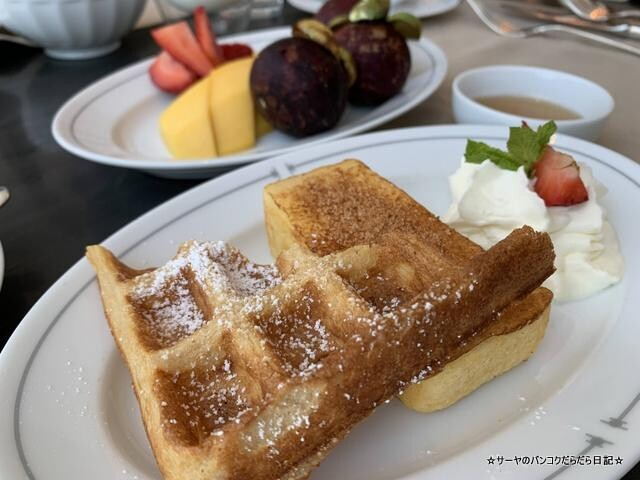 Breakfast  Waldorf Astoria Bangkok バンコク ウォドルフ (22)