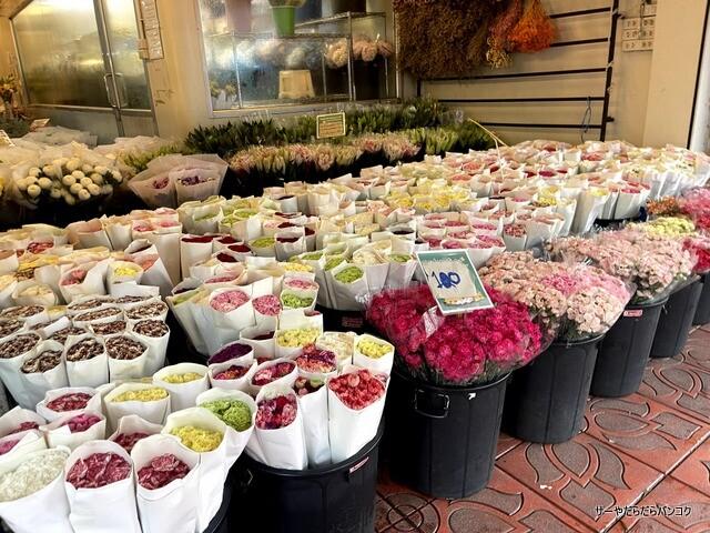 パーク クローン花市場 バンコク flower market (5)