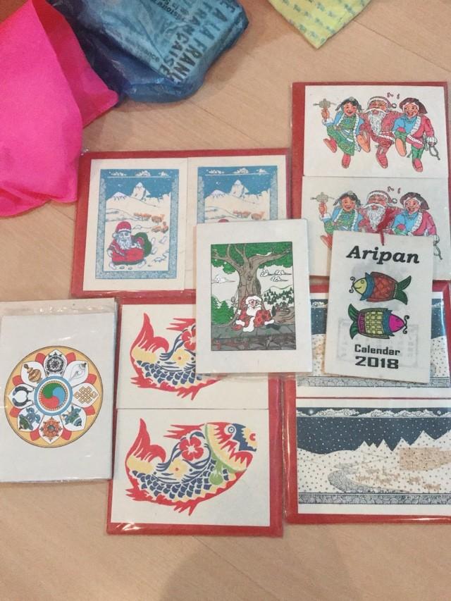 ネパール 土産 ロクタ紙 ポストカード