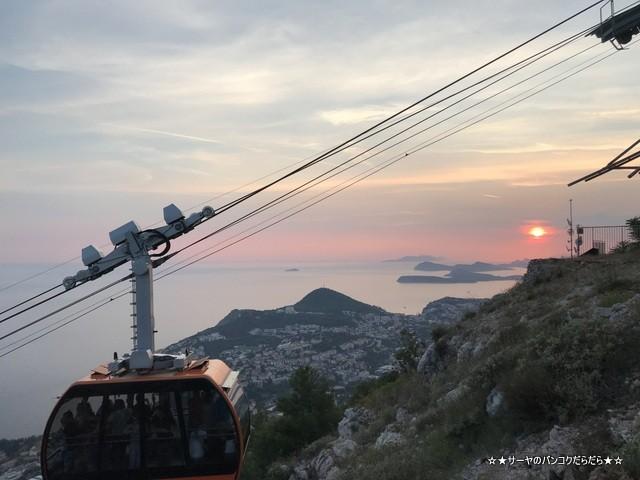 ドゥブロヴニク 山頂 スルジ山 クロアチア (1)