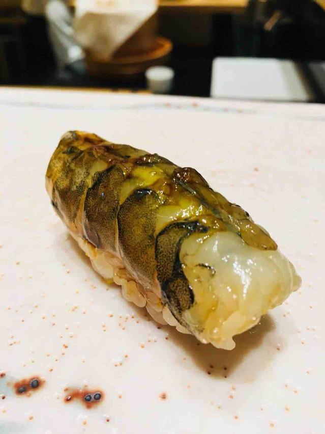 鮨いちづ バンコク bangkok sushi 車エビ