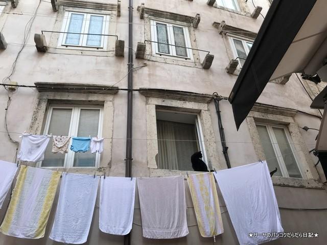 ドブロブニク 洗濯物