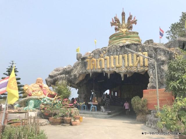 カオタオ洞窟寺院 watthamkhaotao 亀 ホアヒン (13)