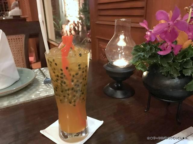 Baan Khanitha バーンカニタ  バンコク タイ料理 パッションフルーツ