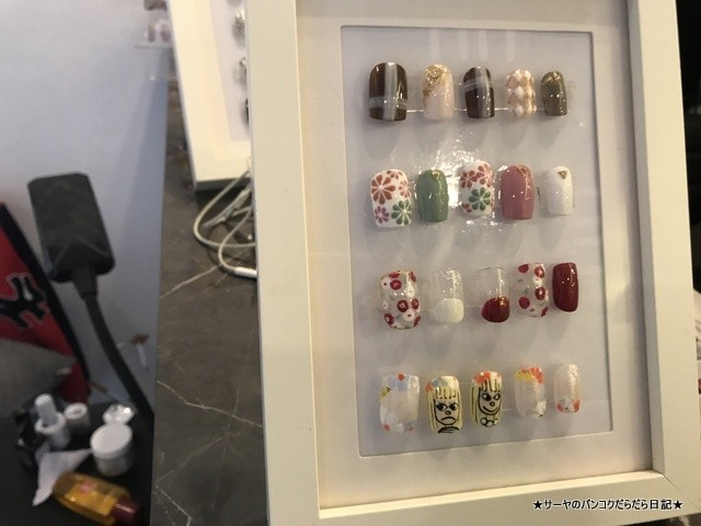 Cloudnine Nail Bar & Cafe バンコク ネイル (9)
