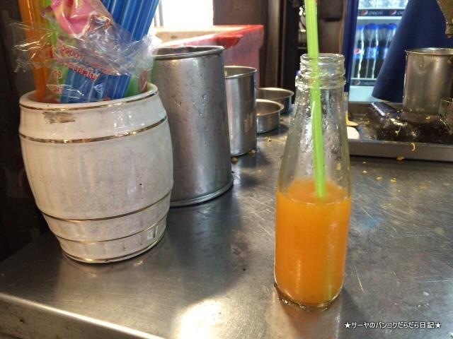 美味しいオレンジジュース屋 ルークソム orange juice