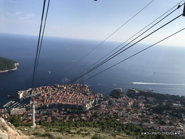 スルジ山 ロープウェイ ドゥブロブニク クロアチア (7)