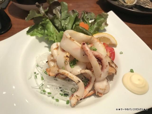 原始焼き genshiyaki バンコク 日本料理 和食 イカ