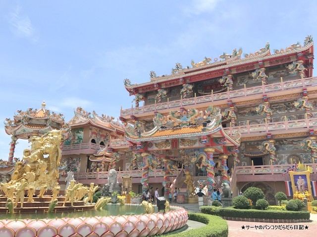 Wihan Thep Sathit Phra Ki Ti Chaloem 中華寺 アンシラ (6)