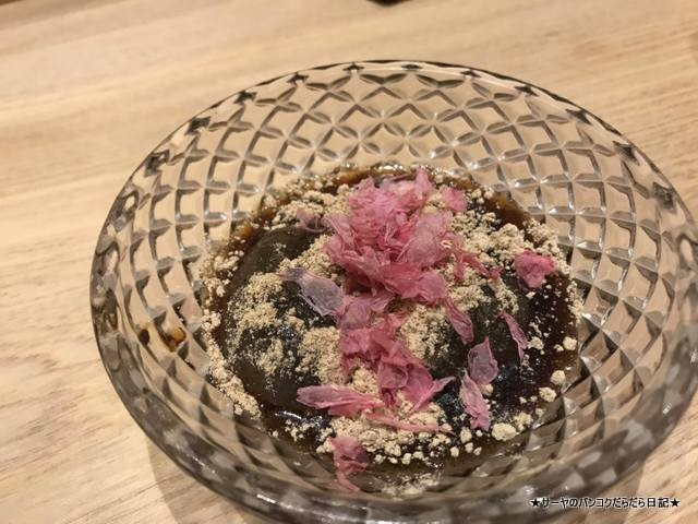 sushi ichizu 鮨いちづ 豪華 バンコク 美味 葛餅